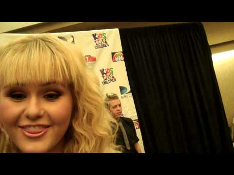 Ashlee Keating Interview at Kids Help Children Event 2012