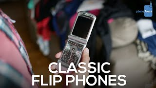 These were the classic flip phones that everyone used (and we miss them)