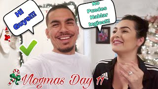 YOU CAN'T SPEAK ENGLISH CHALLENGE!!! (SPANISH VLOG) VLOGMAS DAY 11