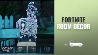 Fortnite Room Décor [2018 Best Sellers]: Fortress Llama Night Lights Changeable USB Touch Lampada