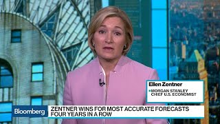 Top Forecaster Zentner Sees Two Fed Hikes in 2019
