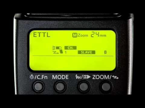 Canon EOS 60D Tutorial - Integrated Speedlite Transmitter 13/14