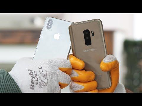 Çakmaların Savaşı 2018: Çakma S9+ VS Çakma iPhone X (Çürük Yumurta Oynadık!)