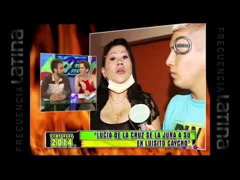 Lucía de la Cruz responde a amenazas de Luisito Caycho