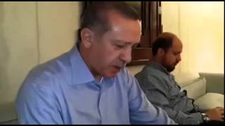 Recep Tayyip Erdoğan, President of Turkey reciting Quran