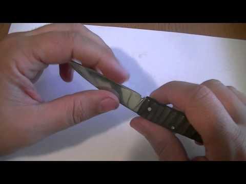 Первый складной нож -первый блин комом