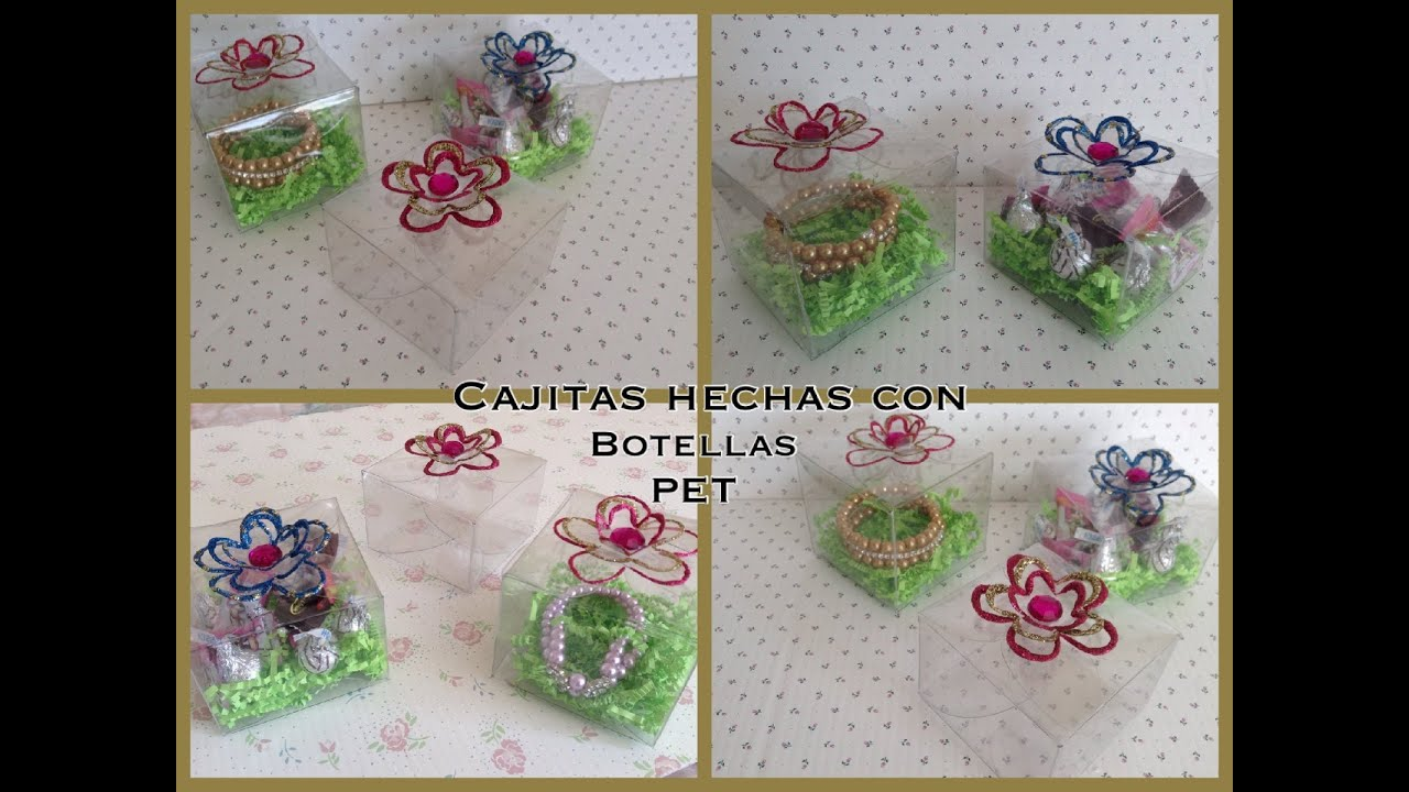 Manualidades Con Botellas De Pet