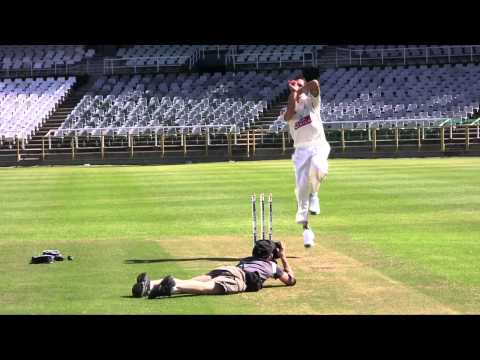 Dale Steyn shoots for New Balance.mov