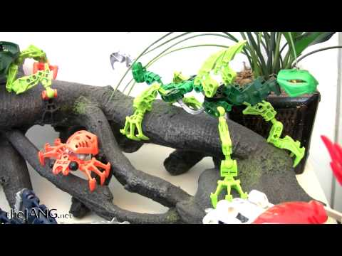 LEGO Bionicle MOC collection Part 3 - Rahi