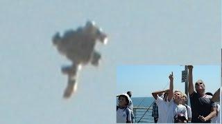 JAW DROPPING UFO SIGHTING!!! MASSIVE UFO STUNS BEWILDERED CITIZENS! MIND BLOWING 2016