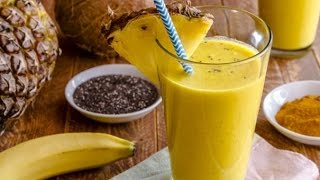 What Will Happen In Your Body If You Consume Pineapple Turmeric Smoothies everyday
