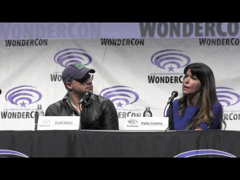 WB Justice League & Wonder Woman Panel W Geoff Johns & Patty Jenkins Wondercon 2017