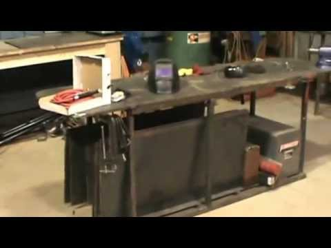 Lets Build a Welding Table / Fabrication table