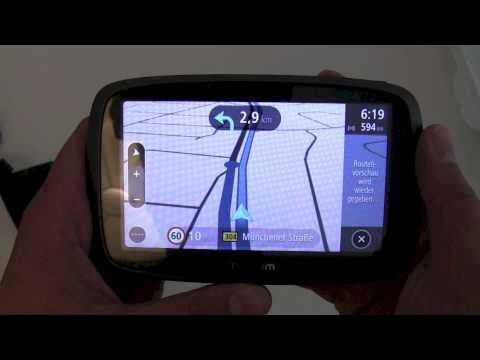 TomTom GO 500 Vorstellung der Software