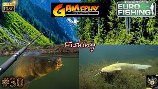 Euro Fishing Gameplay #30 Grosse Carpe Big Carp catfish silure jeu de pêche 2017