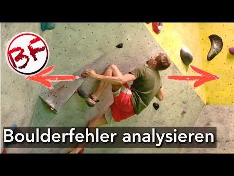 Bouldern: Technikfehler analysieren - Tipps für Anfänger