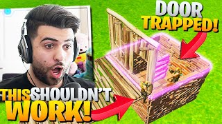 How To TRAP Enemies With A DOOR!? (CRAZY TRICK!) - Fortnite Battle Royale