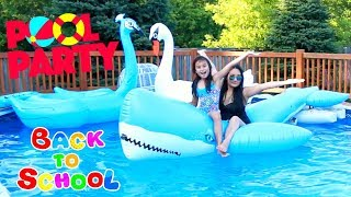 Back to School Haul Giant Inflatable Epic Party Toys!