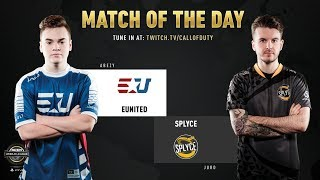 eUnited vs Splyce | CWL Pro League 2019 | Division B | Week 4 | Day 4