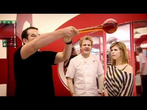 Yard of Ale and Lager Challenge - Gordon Ramsay