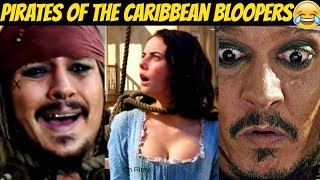 Pirates of the Caribbean 5 Bloopers Ft. Johnny Depp - All Movies Included - 2017