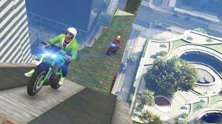 EXTREME GTA 5 PC BIKE STUNTS! (GTA 5 PC Funny Moments)