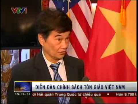 VTV1 News Report: Vietnamese Embassy and the IGE host events to discuss religious freedom