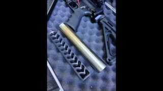 SEG Suppressors Hancock RPD suppressed machine gun 7.62x39