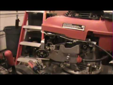 How to fix a honda lawnmower part 1