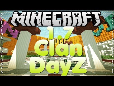 Divulgação de Server Minecraft 1.7 DayZ e Clan [Original e Pirata]