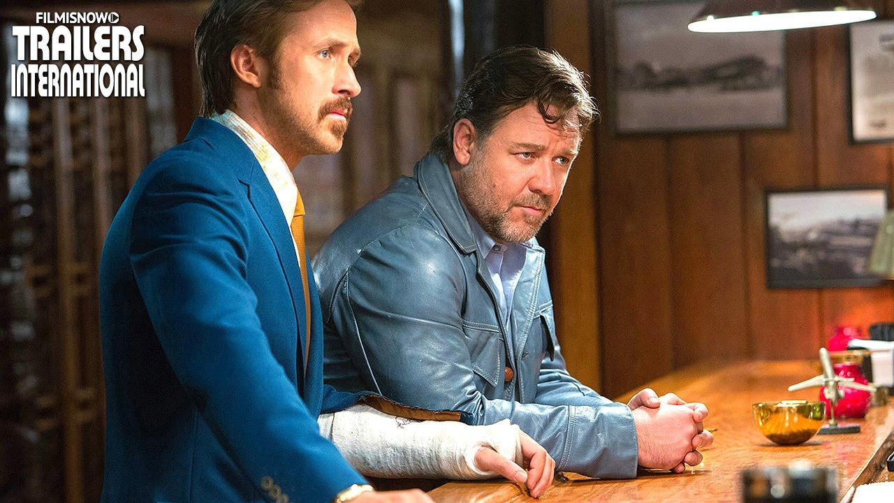 Dois Caras Legais com Russell Crowe, Ryan Gosling | Trailer Legendado [HD]
