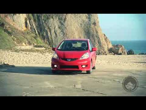 2009 HONDA FIT NEW CAR REVIEW Video