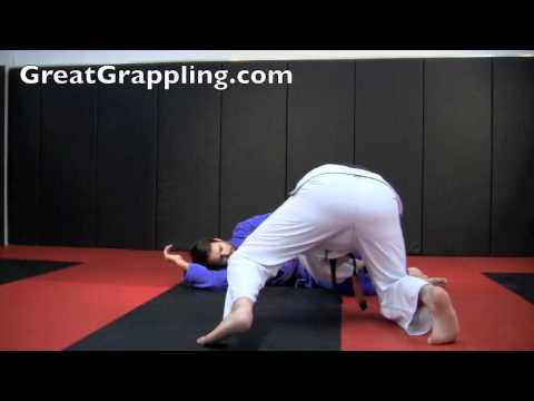 Open Guard Pass Slam and Go