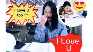 [Du Học Sinh Hàn Quốc] Vlog 8: Cơm Căng teen Ổn Mà?! Tham Quan Thư Viện Siêu To Đùng