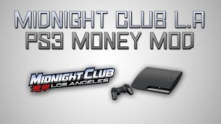 Midnight Club L.A Money Hack! (PS3)