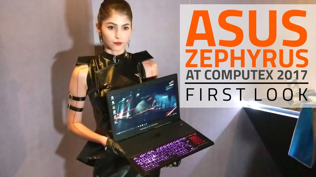 """Apart from a host of laptops and tablets, Asus has also amped up its Republic of Gamers product lineup at Computex 2017 in Taipei. This includes the """"world's slimmest gaming laptop with a Nvidia GeForce GTX 1080"""", the Asus ROG Zephyrus (GX501VI), and a new ROG Swift PG35VQ gaming monitor as well. At the ROG Computex event, Asus also unveiled a colourful Strix Fusion headset and a slick USB monitor called ZenScreen as well.Starting with the big news, Asus's ROG Zephyrus is a laptop built for gamers and is thinner than all the ROG laptops launched before. It boasts of high-end gaming hardware with support for Nvidia GeForce GTX 1080 graphics, seventh generation Intel Core i7-7700HQ processor, an optional 120Hz wide-view display, and it ships with the latest Windows 10 Creators Update. During intensive gaming sessions, Asus claims the ROG Zephyrus maintains its temperature with a new 'Active Aerodynamic System' air-flow design crammed into a 16.9 -17.9mm chassis. Asus claims th.."""