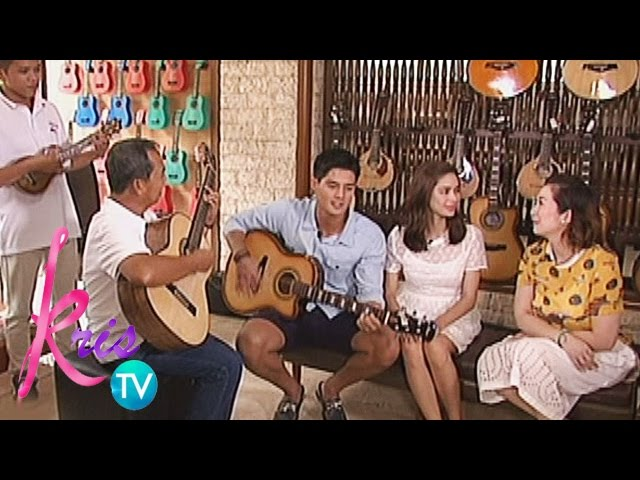 Kris TV: Daniel sings 'I'm Yours'