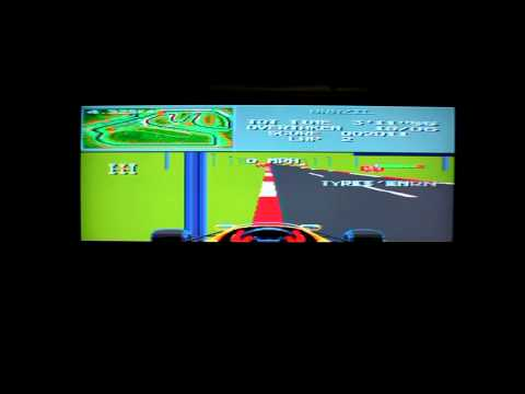 Lets Play F1 For The Sega Megadrive   Classic Retro Game Room