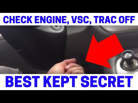 (Part 3) How To Fix Your Check Engine. VSC. Trac Off Warning Lights On