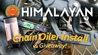 How-To: Tutoro Auto Chain Oiler Installation & GIVEAWAY!