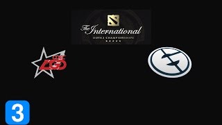 Highlights CDEC Gaming vs Evil Geniuses Game 3- The International 2015