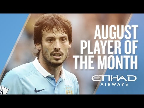DAVID SILVA | Etihad Player of the Month - August