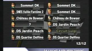 Mario Kart Wii on wifi: Race 1 Dazzle Test
