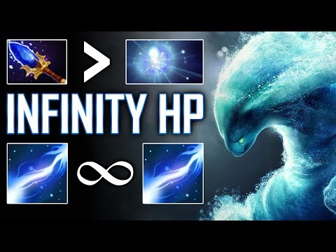 INFINITY HP WITH Morphling + Io Tether Combo - SingSing Dota 2 Highlights