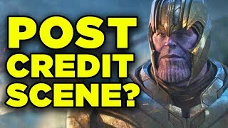Avengers Endgame RE-RELEASE Explained! Post-Credit Scene & New Footage!
