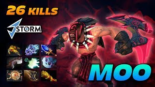 MOO 26 KILLS Bloodseeker [2 Hours Game] Dota 2 Pro Gameplay