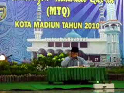 MTQ Kota Madiun 2010 - Juara satu Qori Dewasa
