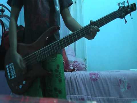 Larc en ciel- hitomi no jyuunin (bass cover)