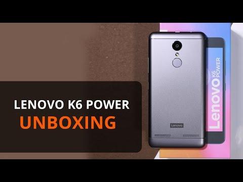 Lenovo K6 Power: Unboxing   Price