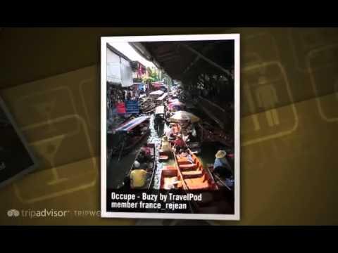 """Marche Flottant – Bangkok – Floating Market"" France_rejean's photos around Damnoen Saduak"